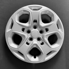 """One New Wheel Cover Hubcap Fits 2010-2012 Ford Fusion 17"""" Silver 5 Spoke Push On"""