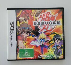 Nintendo DS Bakugan Battle Brawlers incl manual Fast Shipping