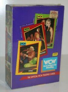 Vintage 1991 World Championship Wrestling WCW Trading Card Set in sealed Box