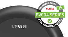 VESTEL  EVC04-AC11A-T2P  , 11kW, 3ph., RFID, inkl. FI ,DC-Sens., 5m Kab. Typ 2