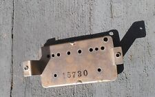 Shaw era Gibson humbucking pickup Base Plate no pat number . Pickup parts