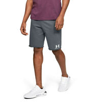 Under Armour Mens Sportstyle Terry Shorts Pants Trousers Bottoms - Grey Sports
