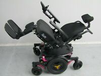 2017 PERMOBIL M1 WHEELCHAIR WITH POWER RECLINE.