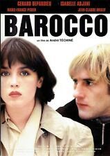 DVD - BAROCCO - Gerard Depardieu , Isabelle Adjani
