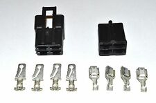 DELPHI PACKARD GM 56 SERIES FOUR CONDUCTOR CONNECTOR SET 12  GA.