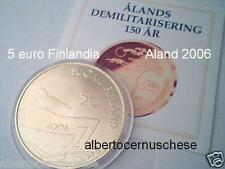 5 euro 2006 FINLANDIA 150 anni Aland Finland FINLANDE suomi finnland Финляндия