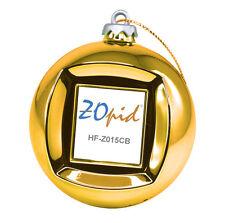 "ZOpid HF-Z015CB 1.5"" Display Christmas Ball Digital Photo Frame Ornament Gold"