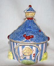 New Royal Doulton Disney Faries Colorful Cottage Trinket Box-Hand Made,Decorated