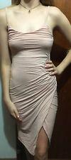 Kookaï Wrap Front  Dress Claypot  Colour  Sz 1 (e85)