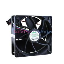1pc Nidec V12E12BS1B5-07 fan 12v 1.85A 120*120*38mm pwm 4pin