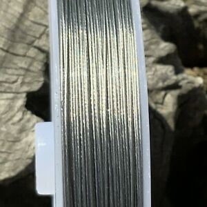 1 roll 0.45mmx100M Tiger Tail Jewellery Wire Nylon Coated 304 Stainless Steel
