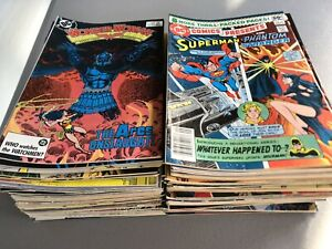 HUGE 100+ COMIC BOOK LOT- All DC. With Batman, Superman, Action Comics And More