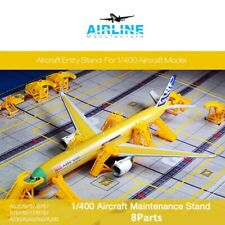 Airline Manufacture 1/400 Airport GSE - Aircraft Model Maintenance Stand(8Parts)