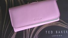 Ted Baker Large Dusky Pink Patent Leather Bow Clasp Purse Lindar