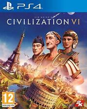 La civilisation VI Playstation 4 PS4 NEW RELEASE Précommande 22/11/2019 GRATUIT UK p&p