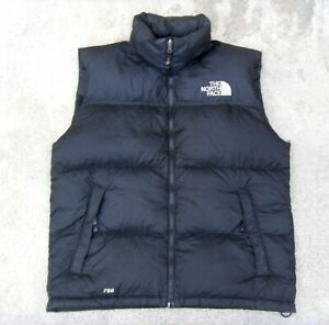 The North Face Nuptse 700 Fill Goose Down Puffer Vest Men's L Black