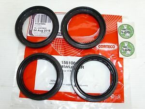 LAND ROVER DEFENDER & DISCOVERY WHEEL BEARING HUB SEAL X 4 - OEM CORTECO FTC4785