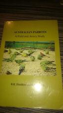 AUSTRALIAN PARROTS A FIELD AND AVIARY STUDY HUTCHINS & LOVELL NATIVE BIRDS BOOK