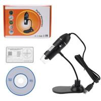 Digital USB Microscope 1000X Magnifier Protable Endoscope Microscope with Stand