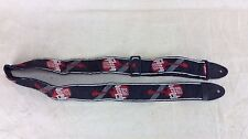 Used Gibson USA Guitar Strap Circa 1990's Black