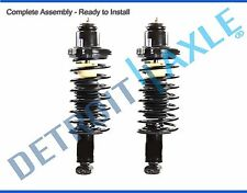 (2) New Complete Rear Strut w/ Spring & Mount Quick Assembly
