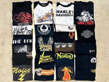 New listing Lot Of 21 Vintage Harley Davidson Knucklehead Panhead Shovelhead Custom T-Shirts