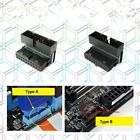 19pin 20pin USB3.0 Male to Female Header Converter Right Angled Adapter