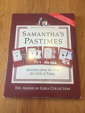 SAMANTHA'S PASTIMES - Activities From The Past EUC Very Rare - American Girl