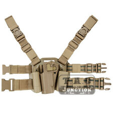 CQC Serpa Left Hand Drop Leg Thigh Pistol Holster for Colt 1911 M1911