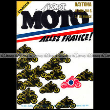 SPORT MOTO N°23 YAMAHA RD 250 HARLEY X90 HONDA CB 360 G RENE GILLET DON VESCO 74