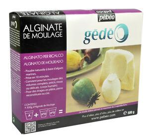 Pebeo Gedeo Moulage Alginate Pour Art & Loisirs Créatifs Moulage 500g