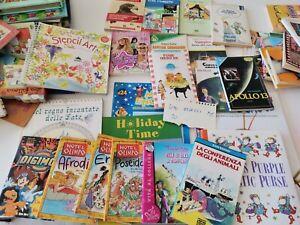 Lotto 20 LIBRI PER RAGAZZI 20 libri vari foto reali 6 - 10 anni