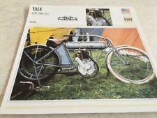 Carte motorrad Yale 500 4 HP 1909 collection Atlas motorbike USA