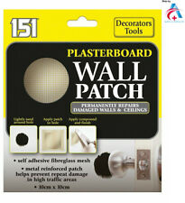 151 Plasterboard Wall Patch Repairs Ceilings DIY Tool & Holes Damage To Walls