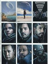 Star Wars Rogue One Series 2 Complete Poster Chase Card Set #1-10