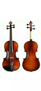 Artist Adult 1/4 Size Beginner Solid Wood Violin With Case Bow And Rosin