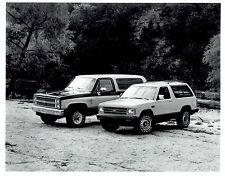 1982 Vintage Photo Chevrolet K5 Blazer &  S-10 Blazer 4 x 4 with Laredo Tires