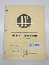 Massey Ferguson Shop Service Manual I&T Series Model mf-1104 mf-1135 mf-1155