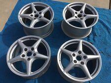"""Genuine Porsche BBS 996 997 928 987 18"""" Wheels - Set of Four - Fresh Restoration"""