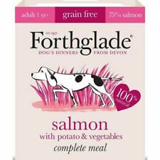 6x Forthglade Complete Adult Salmon with Potato & Veg Grain Free 395g