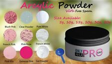 Acrylic Powder - Nail Enhancement, Choice of Colour & Size