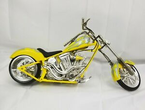 Toy Zone 1:6 Yellow Motorcycle (AS-IS)
