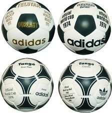 Adidas FIFA World Cup1970+74+78+82 Footballs-Soccerballs-Size 5-Genuine Leather