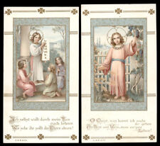 lotto santini-holy cards lot-lot images pieuses-konvolut heiligenbildichen 2104