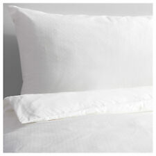 IKEA BERGLILJA White King Size Duvet Cover & 4x Pillowcases