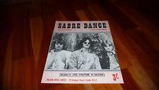 LOVE SCULPTURE SABRE DANCE ORIGINAL UK 1968 SHEET MUSIC DAVE EDMUNDS