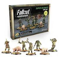 Fallout Wasteland Warfare Miniatures Super Mutant Core Box Brand New & Sealed