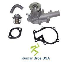 New Kubota B2100D B2100E B2100HSD B2100HSE Water Pump W/Return Hose & Thermostat