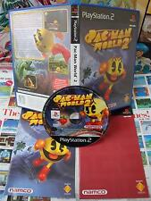 Playstation 2 PS2:Pac-Man World 2 [TOP NAMCO & 1ERE EDITION] COMPLET - Fr