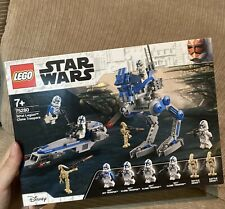 New LEGO 75280 Star Wars 501st Legion™ Clone Troopers Hard to Find